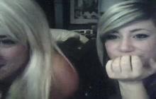 College Girls Teasing On Webcam