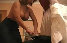 Big boobed tutor seduces her student into fucking her